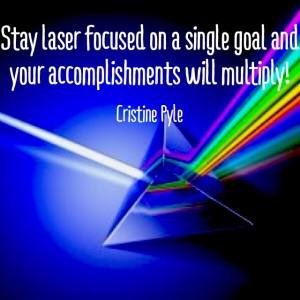 Laser Your Goals