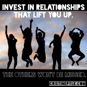 Are you investing in the right relationships?