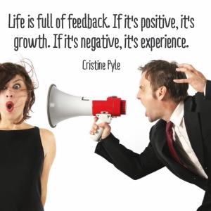 Are you getting feedback?