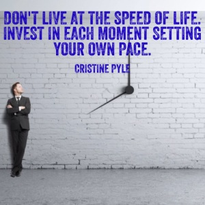 Do you set your own pace?